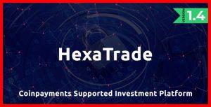 اسکریپت HeXaTrade پلتفرم سرمایه گذاری ارزهای دیجیتال نسخه ۱/۴